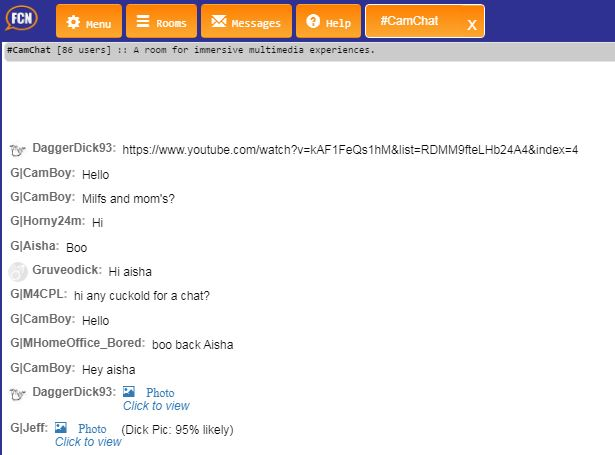 FreeChatNow Chat Window