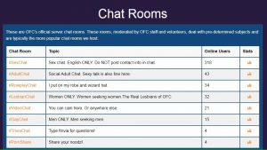 Onlinefreechat chat rooms