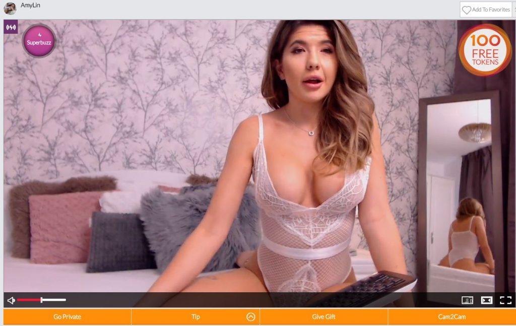 Cams Girl Live Window
