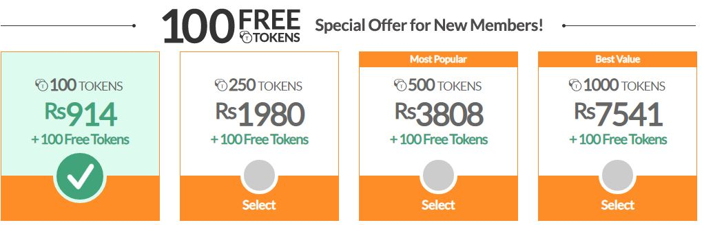 Cams Offer For New Members