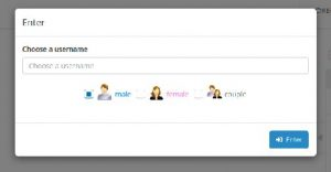 Randomskip chatrooms